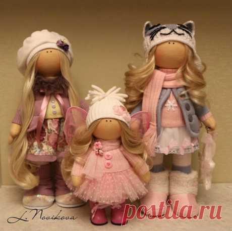 Кукла Снежка: мастер-класс