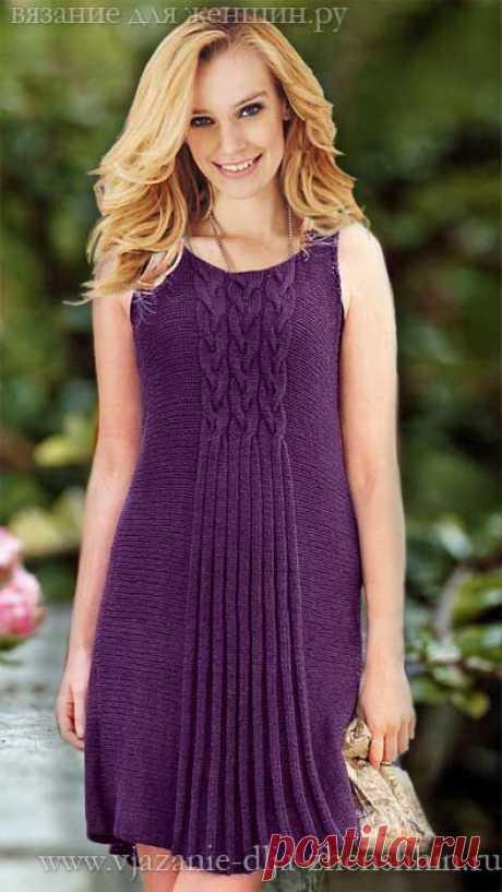 Stylish knitted dress spokes
