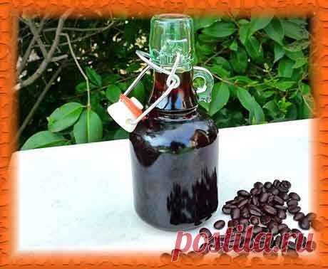 Кофейный ликер, рецепт приготовления в домашних условиях