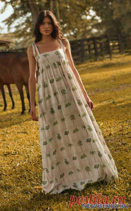 Летние льняные платья из коллекции Agua By Agua Bendita 2020 - Секреты стиля - медиаплатформа МирТесен