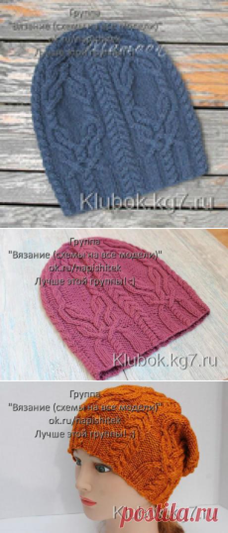 Модели вязания батик
