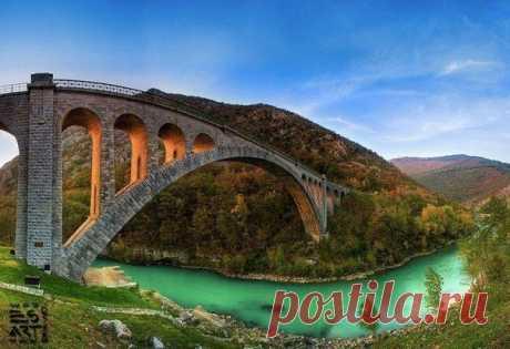 красиво.мост.
