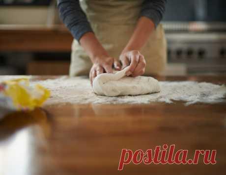Тесто на сыворотке без дрожжей для пирожков - Рецепты