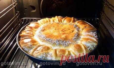 Пирог с капустой и фаршем. Рецепт с фото / Готовим.РУ