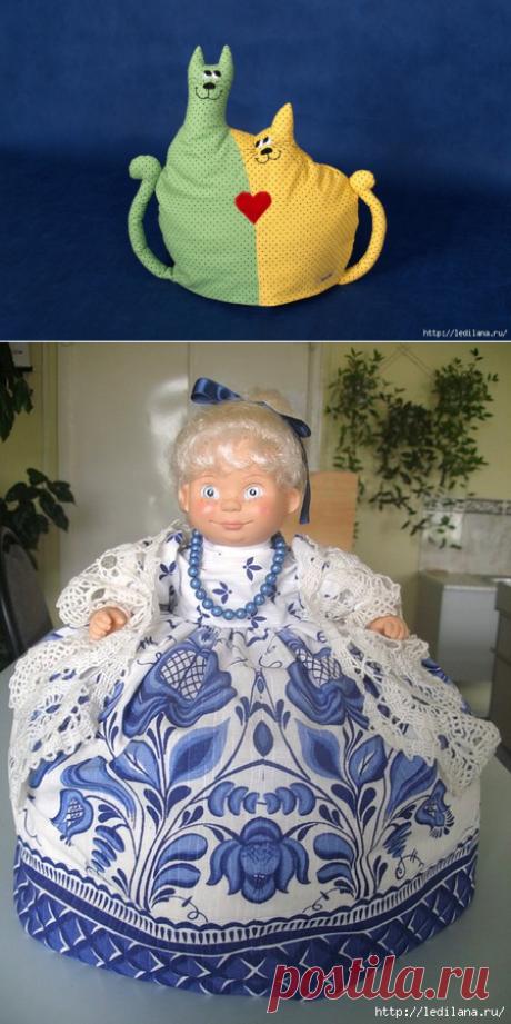 Украшения на чайнички