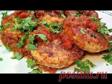 Рыбные котлеты для гурманов! Нежнейшие котлеты из рыбы в томатном соусе со специями. - YouTube