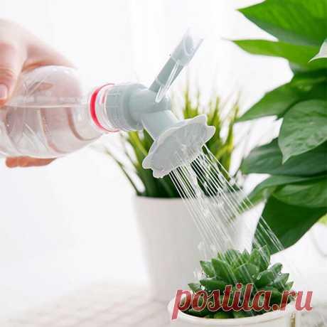 28.06руб. 23% СКИДКА|Портативный пластиковый спринклер, насадка для цветочных бутылок с водой, бытовой садовый распылитель для растений в горшке|Канистры для воды|   | АлиЭкспресс Покупай умнее, живи веселее! Aliexpress.com