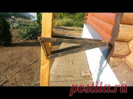 Самодельные строительные леса с изменяемой высотой настила