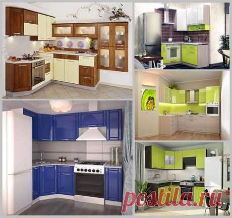 Угловой гарнитур – идеальный вариант для небольшой кухни — Идеи домашнего мастера