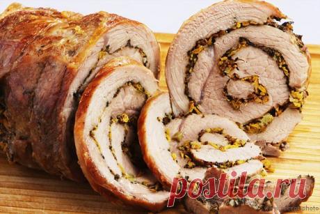 Итальянская Поркетта (маринованное и запеченное мясо) — «нет поркетты – нет праздника»!