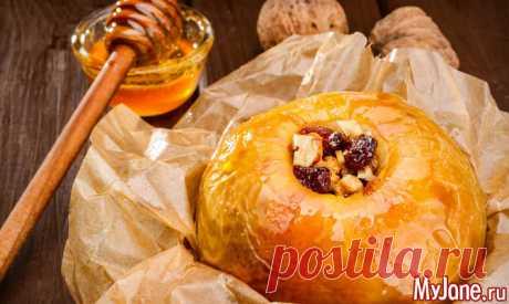 Печёные яблоки. Секреты приготовления - здоровье, здоровое питание, печеные яблоки, польза печеных яблок