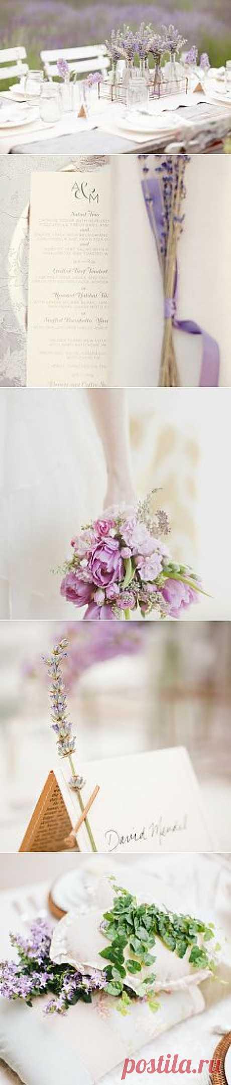 Стилистика свадьбы в деталях: прованс - WeddyWood