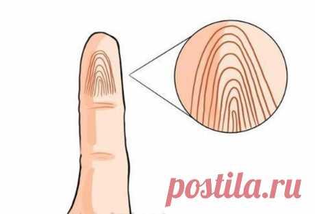 Какой будет ваша старость, легко определить по мизинцу: отпечаток и линии