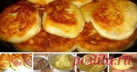 Новый рецепт зразы из картошки. Очаровательный вкус