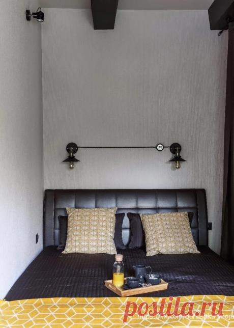 Самая стильная квартира в стиле лофт, что мы видели. Очень просторно и светло, не смотря на маленькую площадь. | El Design | Яндекс Дзен