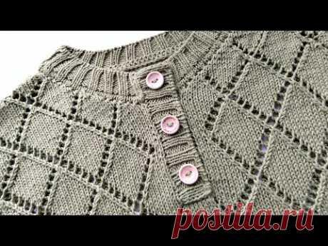 Вязание. Обработка горловины, без иглы. Раскрываю секретик. //Knitting /Master class.