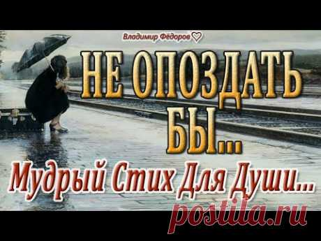 «Не Опоздать Бы…» (Лариса Гапеева/Владимир Фёдоров)