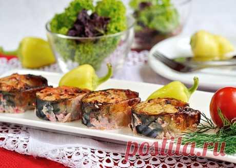 Скумбрия запеченная. Самый простой рецепт приготовления скумбрии. Рыба готовится просто, быстро, но ...