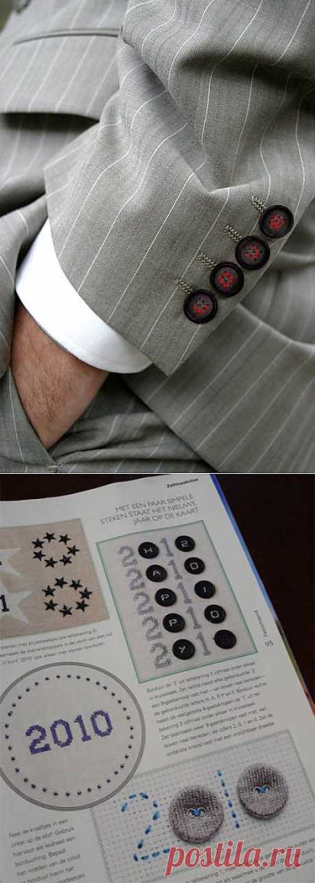 Buttons with 9 holes (selection) \/ Button \/ the Fashionable website about stylish alteration of clothes and an interior