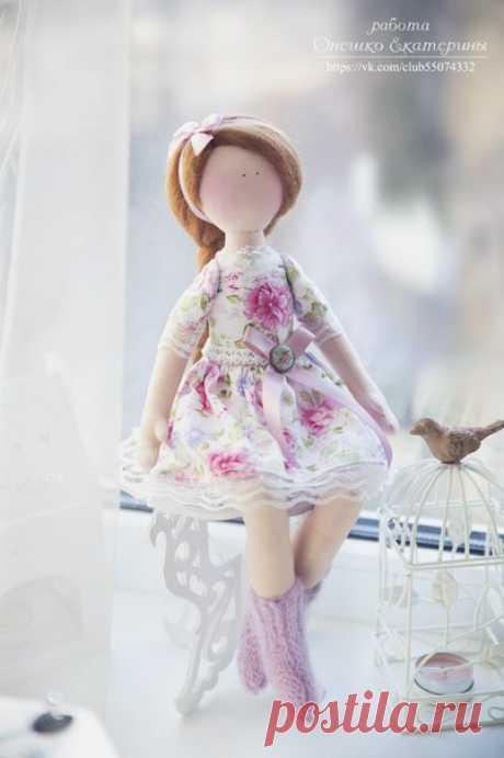 Куколка Маргарита + выкройка  / Живой лёд глобальных вопросов