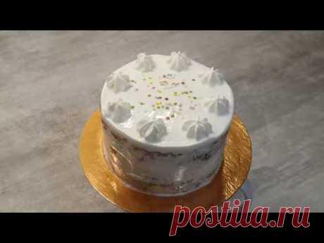Праздничный полезный торт ребёнку на первый День Рождения