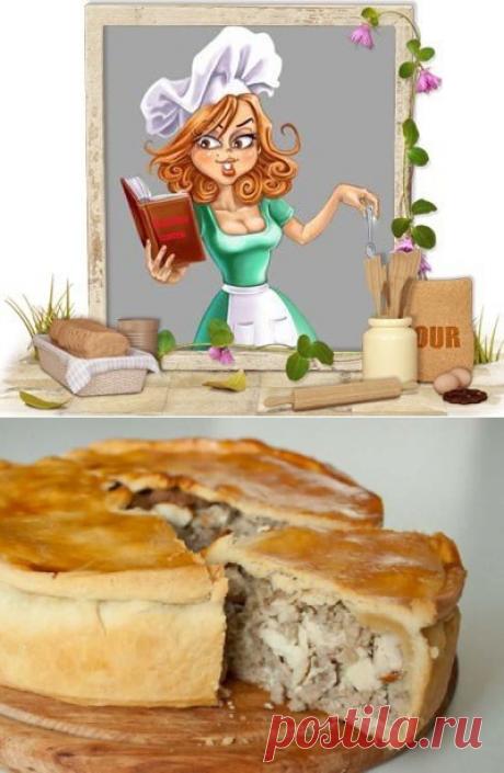 Пирог с курицей (в мультиварке)