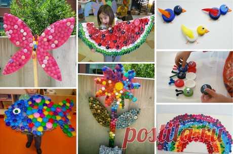 Поделки из пробок от пластиковых бутылок (48 фото): яркий и оригинальный декор - HappyModern.RU