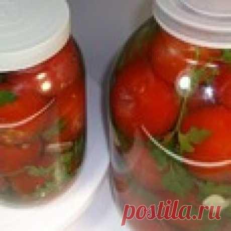 """Квашеные помидоры """"Совсем как бочковые"""" Кулинарный рецепт"""