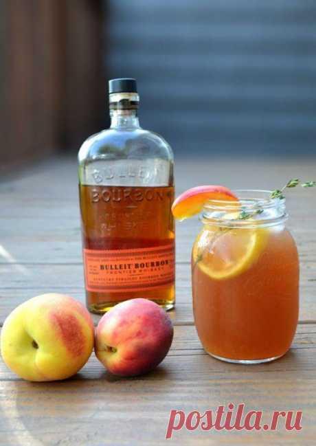 Одна из самых сладких и вкусных настоек: готовлю персиковый ликер себестоимостью в 200 рублей