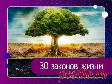 30 законов жизни