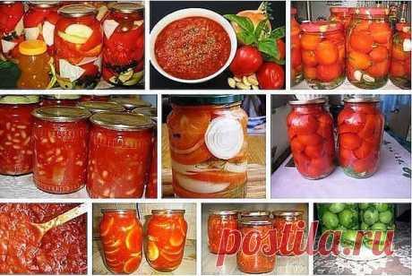 15 супер-рецептов из помидоров.