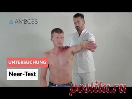Neer-Test - Orthopädie - Untersuchung der Schulter (Impingement-Syndrom)