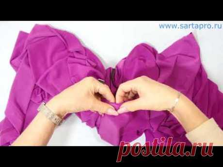 Моделирование и пошив трикотажной блузки - 2ч.