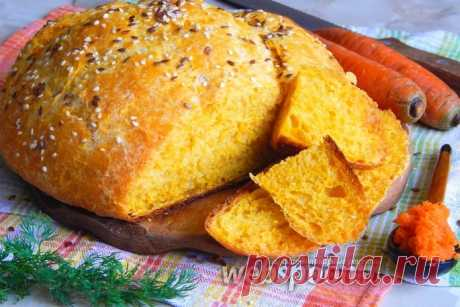 Carrot bread the recipe with a photo how to prepare on Webspoon.ru