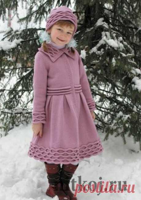 Детское пальто » Ниткой - вязаные вещи для вашего дома, вязание крючком, вязание спицами, схемы вязания
