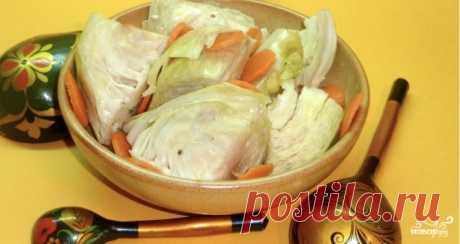 Капуста маринованная быстрая без масла - пошаговый рецепт с фото на Повар.ру