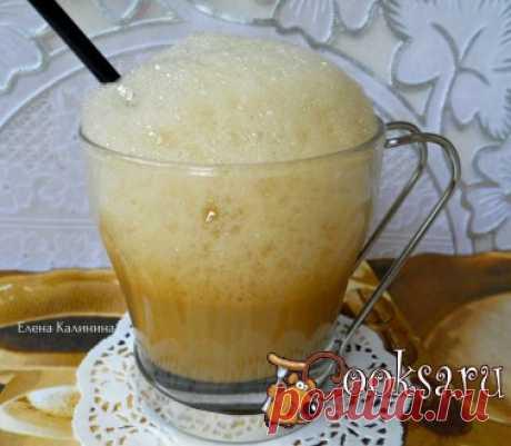 Мокко-флип Очень вкусный освежающий напиток! Сегодня увидела, приготовила, выпила, делюсь с вами! Кофе сваренный (холодный) — 150-170 мл; Желток — 1 шт; Молоко — 100-150 мл; Сахар — 1 ст.л.;