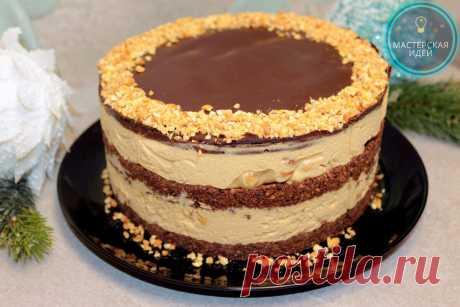 Готовлю торт Сникерс без выпечки, за час и из самых доступных продуктов: всё очень просто и быстро, но дети его обожают (делюсь) | Мастерская идей | Яндекс Дзен