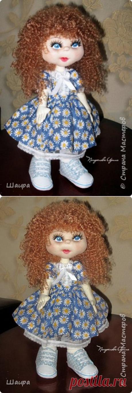 Алла. Интерьерная кукла из капрона. Рост 50 см. Голова - капрон, тело, руки, ноги - ткань. Волосы, ресницы покупные. Ножки и тело на каркасе.