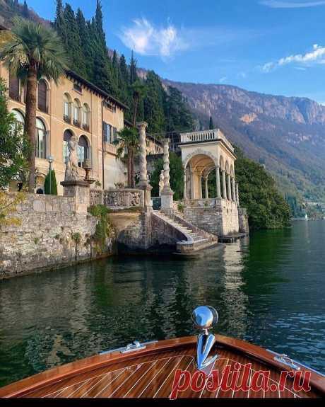༺🌸༻Озеро Комо, Италия