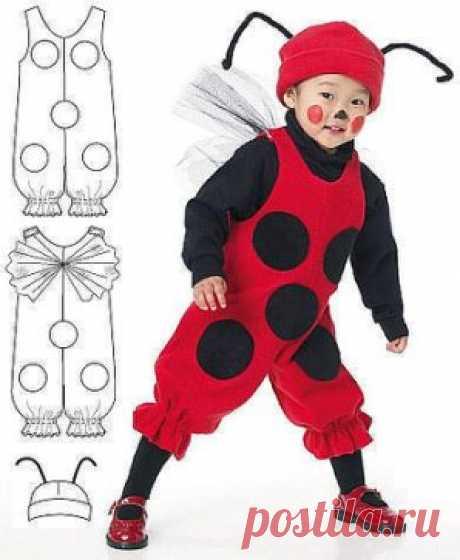 Идеи новогодних костюмов для детей. Комбинезоны.