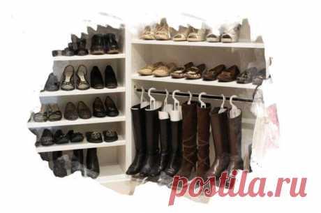 Наводим порядок: лучшие способы организации хранения обуви