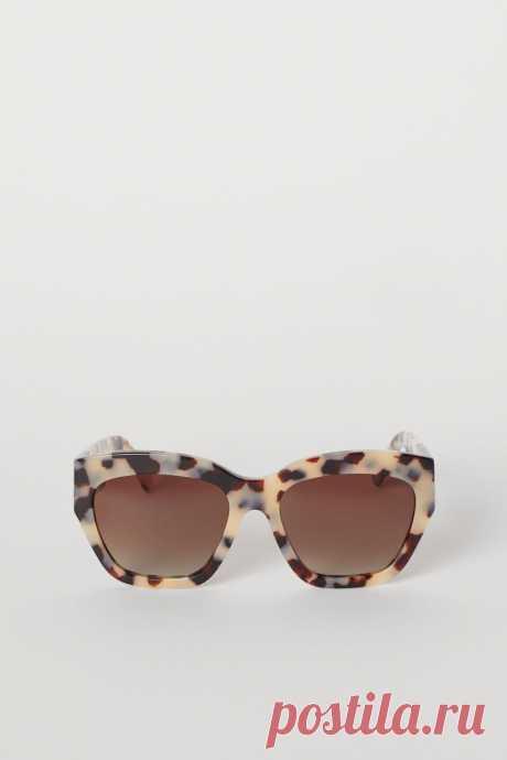 Поляризационные очки - Темно-коричневый/Черепаховый - Женщины | H&M RU