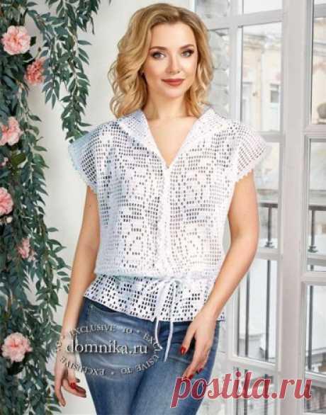 Вязание кофточки из хлопка 5 моделей со схемами для женщин