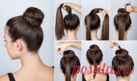 Самые простые прически на каждый день Хотите научиться делать красивые прически своими руками без помощи стилистов и парикмахеров? В этой статье мы покажем яркие фото-примеры и расскажем, как: выбрать легкие и простые прически на каждый день, подходящие разным типам волос; подобрать прическу на все случаи жизни; быстро сделать прическу на короткие, средние и длинные волосы; собрать волосы в прическу без укладки.