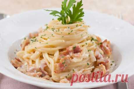 Рецепты итальянской пасты - подборка фото