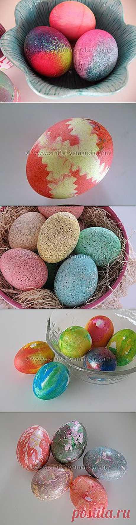 Крашенки – идеи для окрашивания пасхальных яиц.