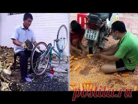 Самоделки, Изобретения и Удивительная Техника ☯ 16 ☯ Amazing homemade inventions ☯ Made By Hands - YouTube