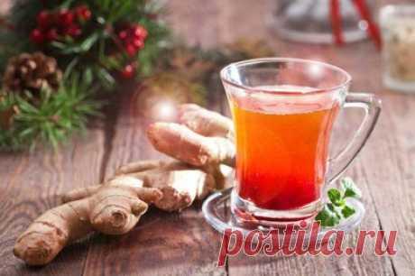 Напиток из имбиря, лимона и меда: от простуды и для иммунитета