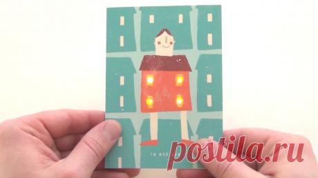 Творческий «сделай сам»: рисуем светом в воздухе и делаем светодиодные открытки Журнал для родителей и тех, кто ими хочет стать. Чтобы воспитывать детей было проще, находить классные идеи на выходные — быстрее, а эксперты были на расстоянии одного клика.